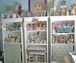 Pretty Bookcases Vintage Home U0026 Quilts Decorating