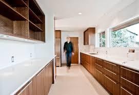 mid century modern walnut kitchen cabinets modern walnut kitchen design by build llc cabinetry by