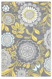 Yellow And Grey Runner Rug Gray Floral Rug Innovative Yellow And Grey Runner Rug Butler