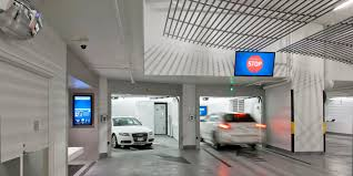 vertical circulation parking system underground design arafen luxury house car park design interior rukle jameson condo vancouver garage shop lift modern interior