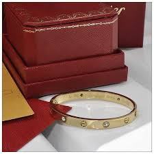 love bracelet gold plated images Cartier 1 1 grade cartier love bracelet in yellow gold plated with jpg