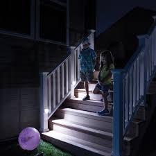 led stair lights motion sensor wireless motion sensor led step and stair lighting mr beams