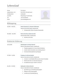 Lebenslauf Vorlage Inhalt Vorlage Lebenslauf 2016 Starengineering