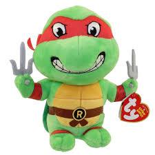 amazon com ty beanie baby raphael teenage mutant ninja turtles