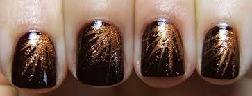 deez nailz sinful colors u0027maghony u0027 with striprite copper nail