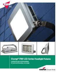 cooper led flood light fixtures led floodlight brochure cooper crouse hinds pauluhn pdf