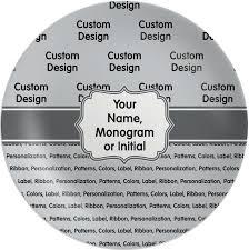 personalized melamine platter personalized melamine plate youcustomizeit