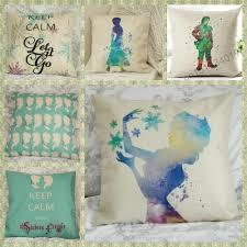 disney princess home decor frozen else anna quote disney princess cushion cover pillow case