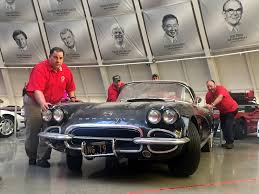 where is the national corvette museum corvette museum commemorates sinkhole s third anniversary with