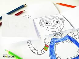 the emotional robot simple emotions activity for kids