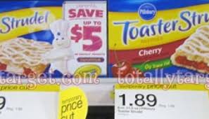 Toaster Strudle Pillsbury Toaster Strudel 1 16 Each With New Coupon