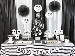 black and white halloween party diy tim burton inspired halloween party party ideas u0026 activities