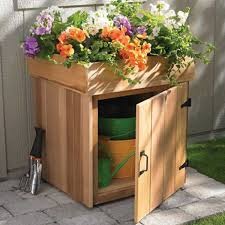 Backyard Storage Solutions 24 Practical Diy Storage Solutions For Your Garden And Yard
