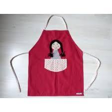 tablier cuisine fille tablier enfant pour la cuisine le jardin les loisirs