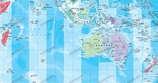 Australian World Map by World Map Time Zones 1 40 Mio Political World Maps World Maps