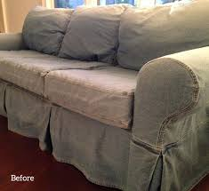 Grey Slipcover Sofa by Grey Slipcovers The Slipcover Maker