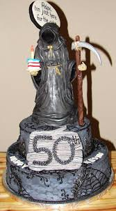 Halloween Cakes Designs by Grim Reaper Cake Jeff U0027s 50th Pinterest Grim Reaper Cake And
