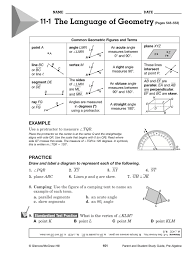 Glencoe Geometry Worksheets Welcome To Mrs Dixon U0027s Class Assignments