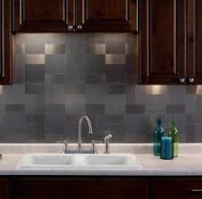 Lowes Metal Backsplash by Interior Metal Tile Backsplashes Hgtv Tin Backsplash Tiles