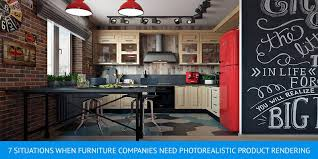 kitchen furniture company photorealistic product rendering when it s vital archicgi