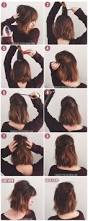 hairstyles step by step for medium length hair