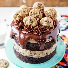 chocolate chip cookie dough cake sugar u0026 soul