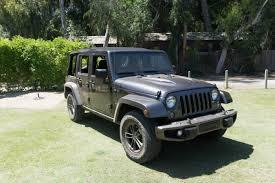 jeep tonka wrangler 2016 jeep wrangler unlimited 75th anniversary edition real world
