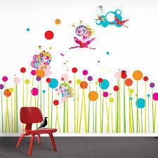 flower wall stickers flower fairies wall stickers