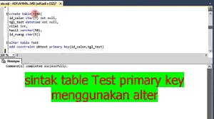 query membuat tabel di sql membuat table dengan query pada sql server 2014 bagian 1 youtube