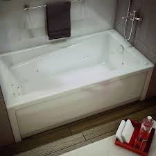 jacuzzi bathtubs canada maax new town whirlpool 60 in bathtub with right hand drain