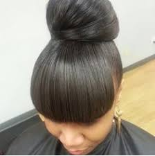 black hairstyles with bun and bangs ideas about african american updos with bangs curly hairstyles