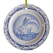 blue and white pottery ornaments keepsake ornaments zazzle