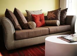 Living Room Sofa Pillows Pillows For Brown With Regard To Throw Sofa Design 15
