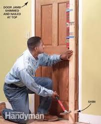 Interior Door Fitting How To Replace An Interior Door Family Handyman