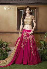 lancha dress shop online silk pink lancha banglewale