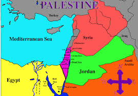 Map Of Mediterranean Countries Palestine On Map Adriftskateshop