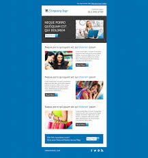 Responsive Email Template Download by Mailchimp Experts Directory