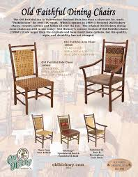 old hickory dining room chairs dining room design