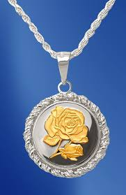 medallion necklace silver images Silver rose medallion rope necklace nrr5 r2 18dc5 jpg