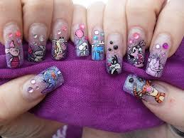 disney character nail designs