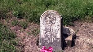 cemetery headstones grown cemetery abandoned civil war era headstones
