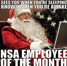 Santa Meme - nsa santa meme guy