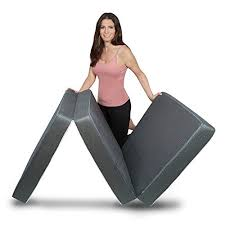 trifold foam folding mattress lightweight and portable multi