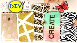 Diy by 20 Diy Phone Cases Easy Diy Cell Phone Case Youtube
