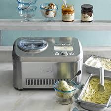 Cream Breville Toaster Breville Smart Scoop Ice Cream Compressor Williams Sonoma