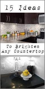 Kitchen Counter Decor Ideas 3 Kitchen Decorating Ideas For The Real Home Countertop