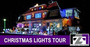christmas light tour sacramento christmas lights tour face2face youth group