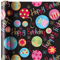 birthday gift wrap happy birthday gift bags gift wrap party city canada