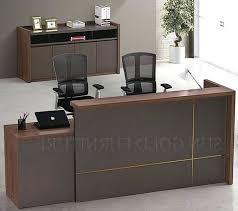 Diy Reception Desk Front Desk Furniture Design Reception Counter Office Intended For