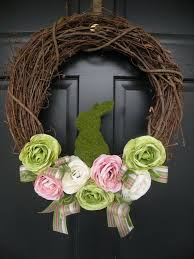 Easter Decorations For Your Front Door by The 25 Best Outdoor Easter Decorations Ideas On Pinterest Happy